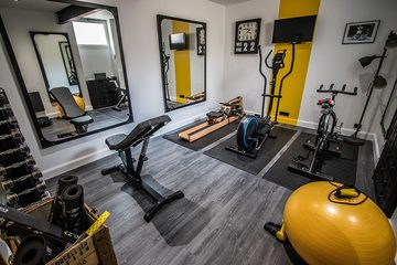 A fitness room in our residence